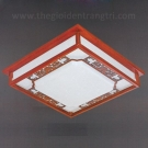 Đèn Ốp Trần Gỗ LED UOTG02 520x520