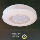 Đèn Áp Trần LED UOT1800H Ø480