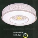 Đèn Áp Trần LED UOTA5 Ø400