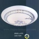 Đèn Áp Trần LED UOT1800K Ø450