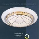 Đèn Áp Trần LED UOT1808H Ø450