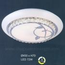 Đèn Áp Trần LED UOT1808J Ø450