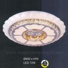 Đèn Áp Trần LED UOT1802B Ø450