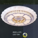 Đèn Áp Trần LED UOT1802D Ø450