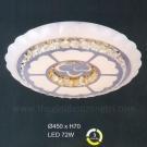 Đèn Áp Trần LED UOT1802E Ø450