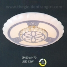Đèn Áp Trần LED UOT1803B Ø450