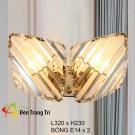 Đèn Trang Trí Tường Pha Lê KH-VPL18-2