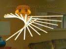Đèn Áp Trần LED KDY007 Ø800
