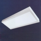 Đèn LED Panel Gắn Nổi 36W UPN04 600x300