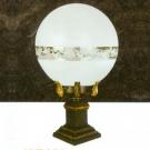 Đèn Trụ Cổng Thủy Tinh NVT956 Ø140