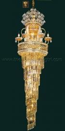 Đèn Chùm Pha Lê Thông Tầng NLNC99153 Ø600 x H2200