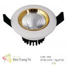 Đèn LED Âm Trần 18W EU-LA383 Ø120