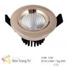 Đèn LED Âm Trần 12W EU-LA385 Ø90