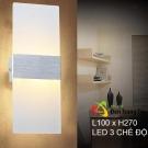 Đèn Trang Trí Ốp Tường LED KH-VK08