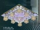 Đèn Mâm Led Vuông VIR118 420x420