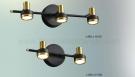 Đèn Trang Trí Rọi Tranh LED KH-RTA110 Đen