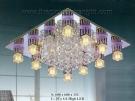 Đèn Mâm Led Vuông VIR121 600x600