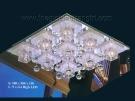 Đèn Mâm Led Vuông VIR125 580x580