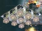 Đèn Mâm Led Vuông VIR129 500x500