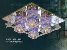 Đèn Mâm Led Vuông VIR132 450x450