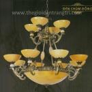 Đèn Chùm Đồng UCD1132 Ø1000
