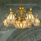 Đèn Chùm Đồng UCD9008-6 Ø900