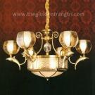Đèn Chùm Đồng UCD891-6 Ø900