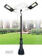 Đèn Trụ Trang Trí Sân Vườn Solar TRỤ 151 H3800