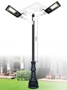 Đèn Trụ Trang Trí Sân Vườn Solar TRỤ 152 H3800