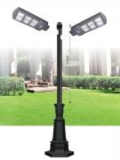 Đèn Trụ Trang Trí Sân Vườn Solar TRỤ 154 H3600
