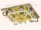 Đèn Mâm LED EU-ML8432 600x600