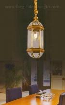 Đèn Thả Đồng UTD6007 Ø180