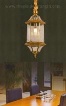 Đèn Thả Đồng UTD6008 Ø200