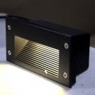 Đèn Âm Cầu Thang LED 3W LH-ACT608-ĐEN