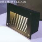 Đèn Âm Cầu Thang LED 3W LH-ACT610