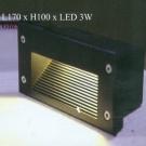 Đèn Âm Cầu Thang LED 3W LH-ACT611