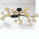 Đèn Chùm LED Nghệ Thuật EU-C24 Ø900
