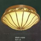 Đèn Áp Trần Đồng UOD6065L Ø500