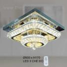 Đèn Trang Trí Ốp Trần LED KH-OTPL12V 500x500