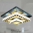 Đèn Trang Trí Ốp Trần LED KH-OTPL11V 500x500