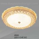 Đèn Ốp Trần LED KH-OPLH100 Ø500