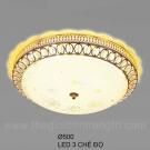 Đèn Ốp Trần LED KH-OPLH90 Ø500