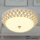 Đèn Ốp Trần LED KH-OPLH116 Ø400