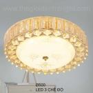 Đèn Ốp Trần LED KH-OPLH128 Ø500