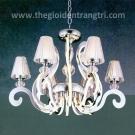 Đèn Chùm LED Inox 304 UCY8136-6+6 Ø780