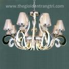 Đèn Chùm LED Inox 304 UCY8136-8+8 Ø820