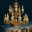 Đèn Chùm Nến Đồng Đá Ngọc VIR257 Ø900