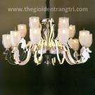 Đèn Chùm LED Inox 304 UCY6111-10+5+5 Ø900