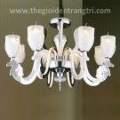 Đèn Chùm LED Inox 304 UCY6111-8+4 Ø670