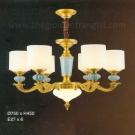 Đèn Chùm Đồng EU-CD27 Ø750